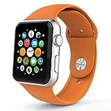 Apple Watch Band, MoKo en Silicone Souple un Replacement de Sport Band pour Tous les Modèles d