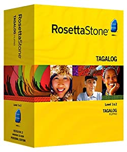 Rosetta Stone V2: Tagalog Level 1-2 Set [OLD VERSION]