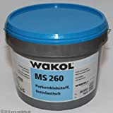 Wakol MS 260 18Kg Wooden Flooring Adhesive For Parquet, Cork, Wide Floorboards