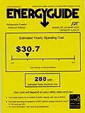 Sunpentown Energy Star 3.2-Cu Ft Double Door Refrigerator with Silver Door