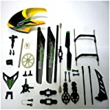 WL Toys V912 Upper Replacement Crash Parts Set Main Blades Propellers Balance Bar Connect Buckles Head Cover