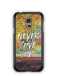YuBingo Stay Positive Designer Mobile Case Back Cover for Samsung Galaxy S5 Mini