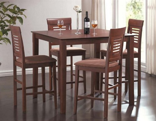 Dining Table Light Height: Buy Low Price Acme Furniture 5pc Counter Height Dining