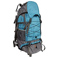Greentree Mountain Rucksack,/Hiking/trekking bag/ Backpack 75 Ltrs Blue Bag with Rain Cover MBG40