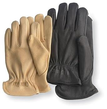 Guide Gear® Insulated Deerskin Gloves, BLACK, M