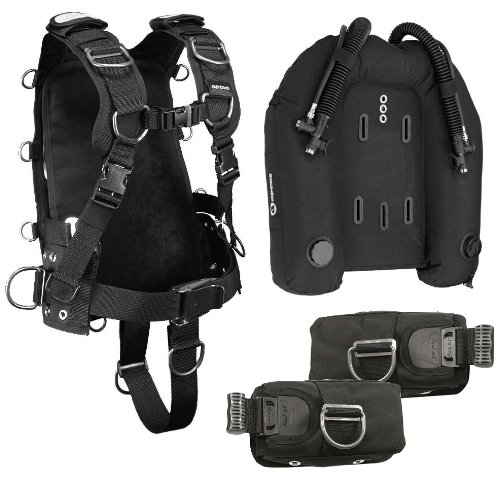 Apeks wtx harness with 60 lbs dual bladder wing surelock - Apex dive gear ...