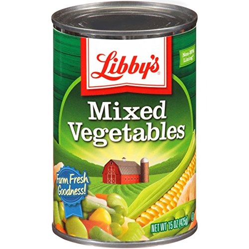 Libby's Mixed Vegetables, 15-Ounce Cans (Pack of 12) (Canned Mixed Vegetables compare prices)