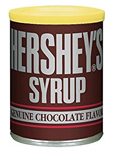 Hershey's Syrup, Chocolate, 16-Ounce Cans (Pack of 8)