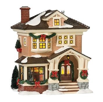 #!Cheap Department 56 Original Snow Village Christmas At Grandma's Lit House
