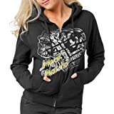 MSR Womens Metal Mulisha Scandalous Zip Hoody 2014