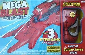 Spiderman - Mega Blast Web Shooter & Light Up Mask