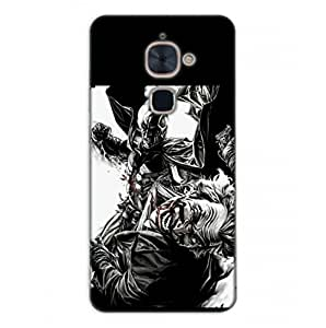Happoz Letv LeEco Le 2 Cases Back Cover Mobile Pouches Shell Hard Plastic Graphic Armour Premium Printed Designer Cartoon Girl 3D Funky Fancy Slim Graffiti Imported Cute Colurful Stylish Boys D261