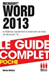 COMPLET POCHE�WORD 2013