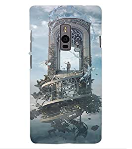 ColourCraft Fantasical Image Design Back Case Cover for OnePlus Two