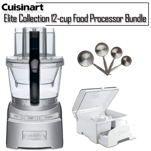 Cuisinart FP-12DC Elite Collection 12-Cup Food Processor, Die Cast