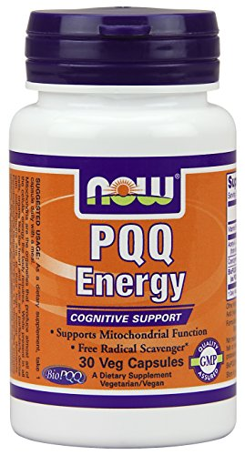 Now Foods PQQ Energy Plus Veg Capsules, 20 mg, 30 Count (Now Energy Capsules compare prices)