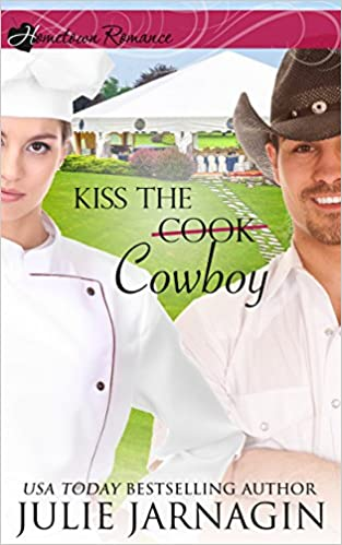 Kiss the Cowboy: inspirational romance (Taste of Texas Book 2)