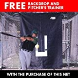JUGS® #10 Fastpitch Softball Batting Cage Net (191 lb. Breaking-Strength Nylon Twine)