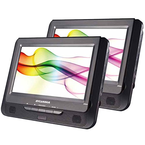 sylvania-sdvd9805-sdvd9805-c-9-inch-twin-dual-screen-dvd-player