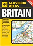 img - for AA Glovebox Atlas Britain book / textbook / text book