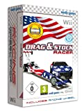 Drag and Stock Racer Bundle with Racing Wheel (Wii)