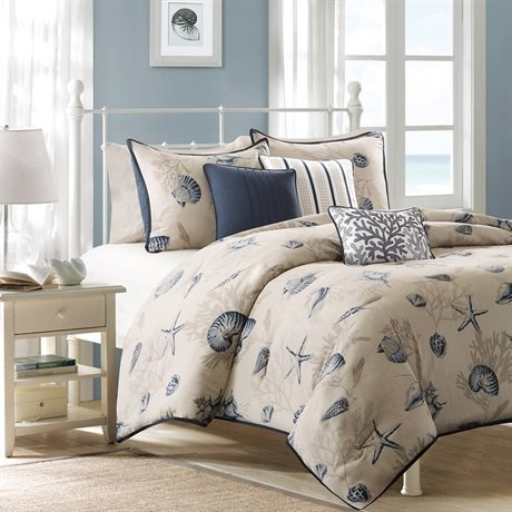 Coral Duvet Cover Queen front-1038668