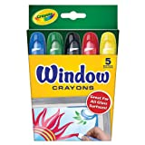 Crayola Window Crayons - 5 Per Pack