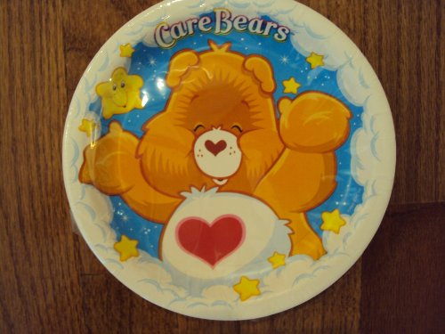 Care Bears 7 Inch Dessert Plates 8 Count - 1