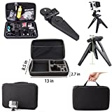 Camera Accessories Kit Basic 43-in-1 for Gopro hd sport acion camera Hero 2 4 3 black silver