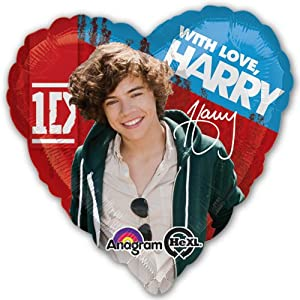 One Direction - Harry Standard HX Balloon by Tristan's Entertainment Services