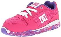 DC Alias Lite Skate Sneaker (Toddler),Fuchsia,6 M US Toddler