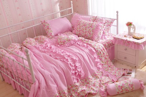 Pink Bed Skirts front-1054941
