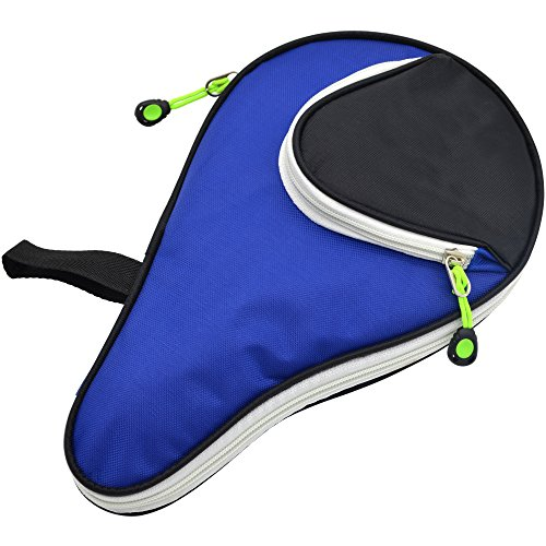 Cosmos ® Nylon Table Tennis Racket Case Bag Cover Pingpong Paddle Bag with Front Pocket (Table Tennis Paddle Cover compare prices)