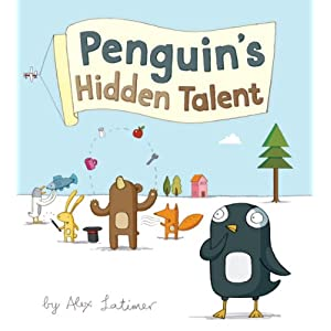 Children's Books – Penguin's Hidden Talent, Croc & Bird