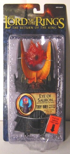 Buy Low Price Toy Biz LOTR- Eyeof Sauron w/Electronic Light and Sound Figure (B000MSGSWE)