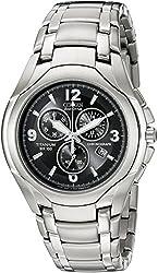 Citizen Men's AT0940-50E Eco-Drive Titanium Watch