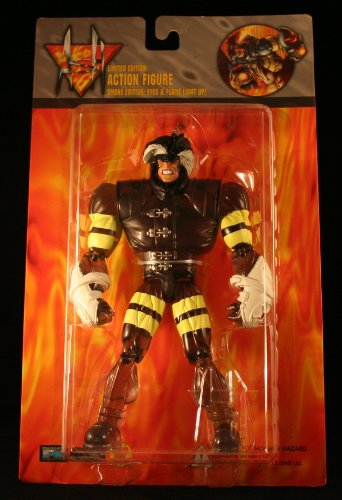 ASH * Smoke Edition: Eyes & Flame Light Up * 8 Inch Limited Edition 1997 Action Figure - 1