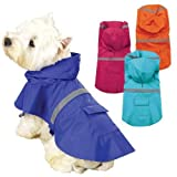 Guardian Gear Brite Rain Jackets for Dogs XS Raspberry