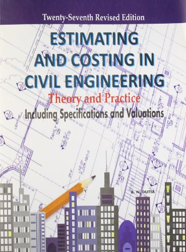 Estimating and Costing in Civil Engineering Image