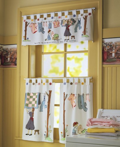 Country laundry room decorations webnuggetzcom for Country laundry room curtains