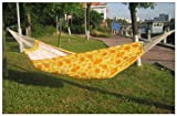 Free Eagle Outdoor Widen Double Canvas Hammock Printing Children's Cartoon Hammock Chair (yellow)
