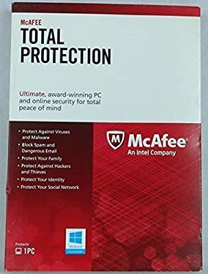 McAfee Total Protection 2014 1PC 1YR (Free 2015-2016 Upgrade)