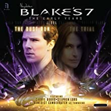 Blake's 7: Jenna - The Dust Run: The Early Years Audiobook by Simon Guerrier Narrated by Carrie Dobro, Stephen Lord, Benedict Cumberbatch