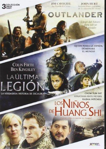 Pack: La Última Legión + Los Niños De Huang Shi + Outlander [DVD]