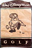 Walt Disney World Grumpy Brown Tan Golf Towel NEW