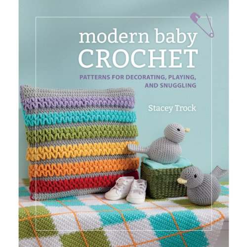 Martingale Modern Baby Crochet Book front-168721