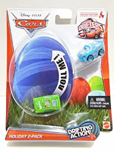 Mattel 2013 Micro Drifters Easter Eggs Holiday Edition Cars 2 Disney Pixar Dinoco Lightning McQueen & Chick Hicks at Sears.com