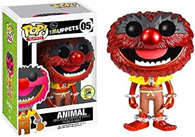 Funko POP! Muppets 2013 SDCC San Diego Comic-Con Exclusive Vinyl Figure Animal [Metallic]