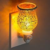 Mosaic Glass Plug-In Fragrance Wax Melt Warmers