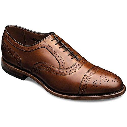 Allen Edmonds Men's Strand Cap Toe 6.5 D(M) Men 1635 Walnut Calf Oxfords Shoes (Allen Edmonds Premium Shoe Polish compare prices)